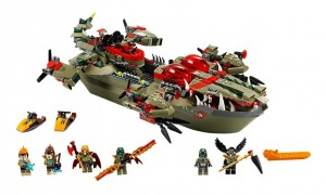 LEGO 70006 Legends of Chima Cragger's Command Ship - Toysnbricks