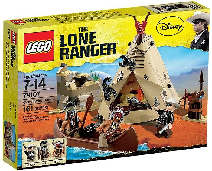 LEGO 79107 The Lone Ranger Comanche Camp - Toysnbricks