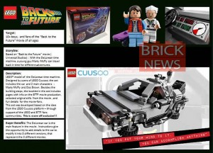 LEGO Back to the Future Time Machine Cuusoo (Pre)
