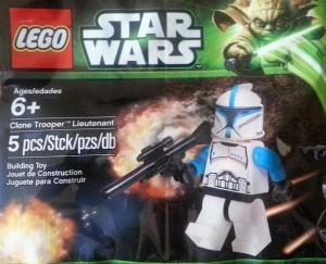 LEGO Clone Trooper Lieutenant Minifigure 5001709 (Pre)