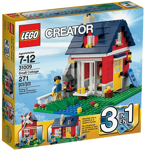 LEGO Creator 31009 Small Cottage - Toysnbricks