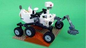 LEGO Cuusoo Mars Science Laboratory Curiosity Rover Fall 2012