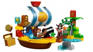 LEGO Duplo 10514 Jake's Pirate Ship Bucky