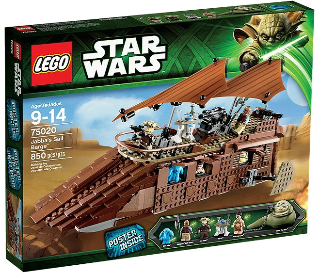 LEGO Star Wars 75020 Jabba's Sail Barge - Toysnbricks