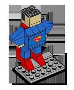 LEGO Superman Build