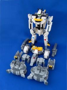 [MOC] Macross Robotech Armored Valkyrie Urban Camo Version