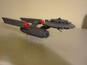 [MOC] Star Trek NCC-1701 Enterprise