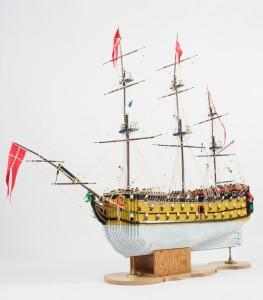 Dragen LEGO Ship (Royal Danish Naval Museum)