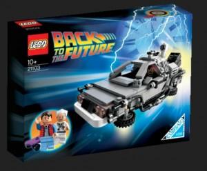 LEGO 21103 BTTF Time Machine - Toysnbricks
