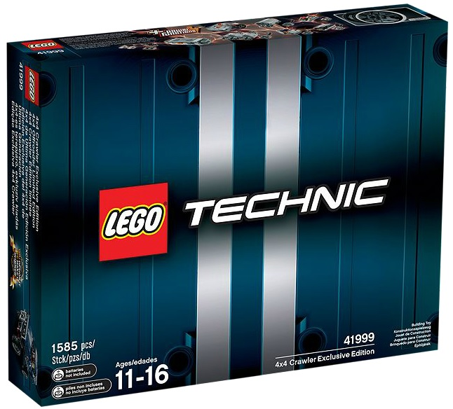 LEGO 41999 Technic 4x4 Crawler Exclusive Edition - Toysnbricks