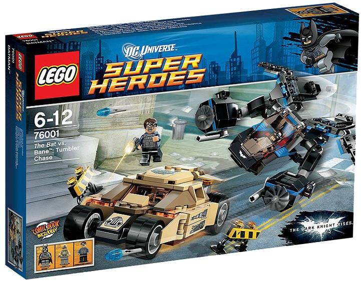 LEGO 76001 Super Heroes The Bat vs. Bane Tumbler Chase - Toysnbricks