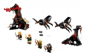 LEGO 79001 The Hobbit LOTR Escape from Mirkwood Spiders - Toysnbricks