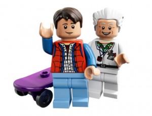 LEGO BTTF 21103 Marty McFly & Emmett Doc Brown Minifigures - Toysnbricks
