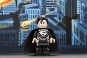 LEGO Black Suit Superman Minifigure San Diego Comic Con 2013