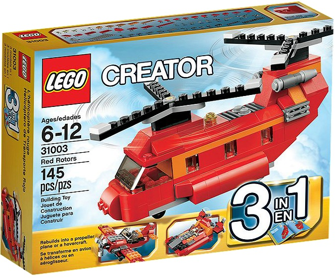 LEGO Creator 31003 Red Rotors - Toysnbricks