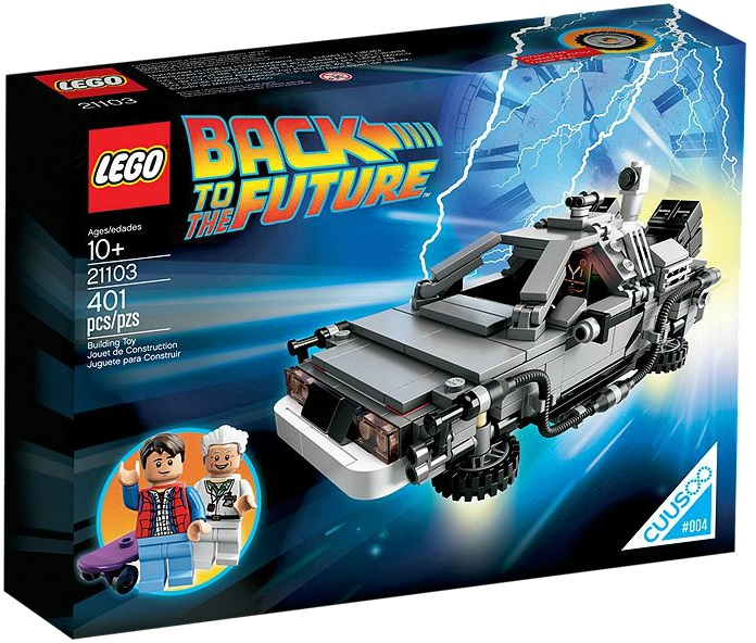 LEGO Cuusoo 21103 The DeLorean Time Machine - Toysnbricks