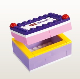 LEGO Friends Jewelry Box August 2013 - Toysnbricks
