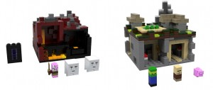 LEGO Minecraft Collection The Village and The Nether