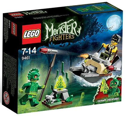 LEGO Monster Fighters 9461 The Swamp Creature - Toysnbricks