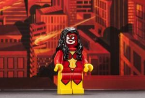 LEGO Spider-Woman Minifigure San Diego Comic Con 2013