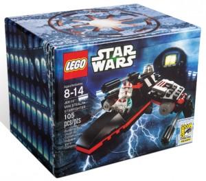LEGO Star Wars JEK-14 Mini Stealth Starfighter SDCC 2013 Exclusive