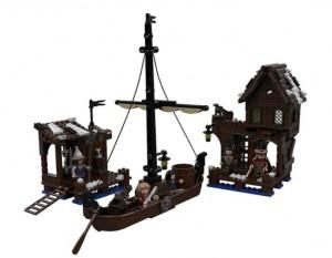 LEGO The Hobbit Lake Town Chase