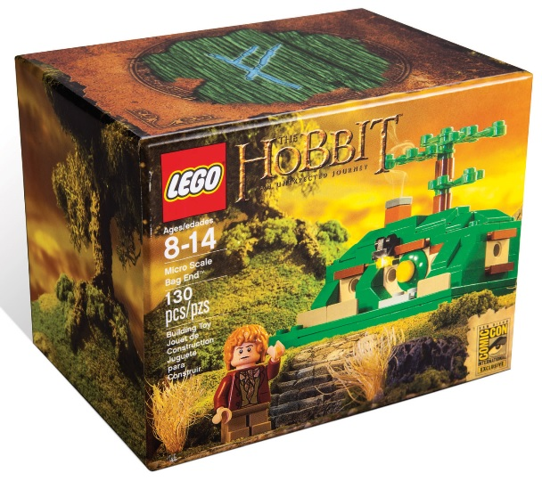 LEGO The Hobbit Micro Scale Bag End SDCC 2013 Exclusive