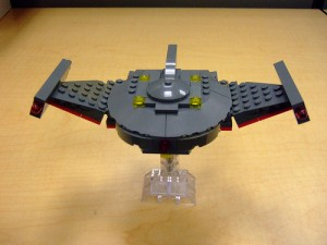 [MOC] Star Trek - Romulan Bird of Prey Spaceship
