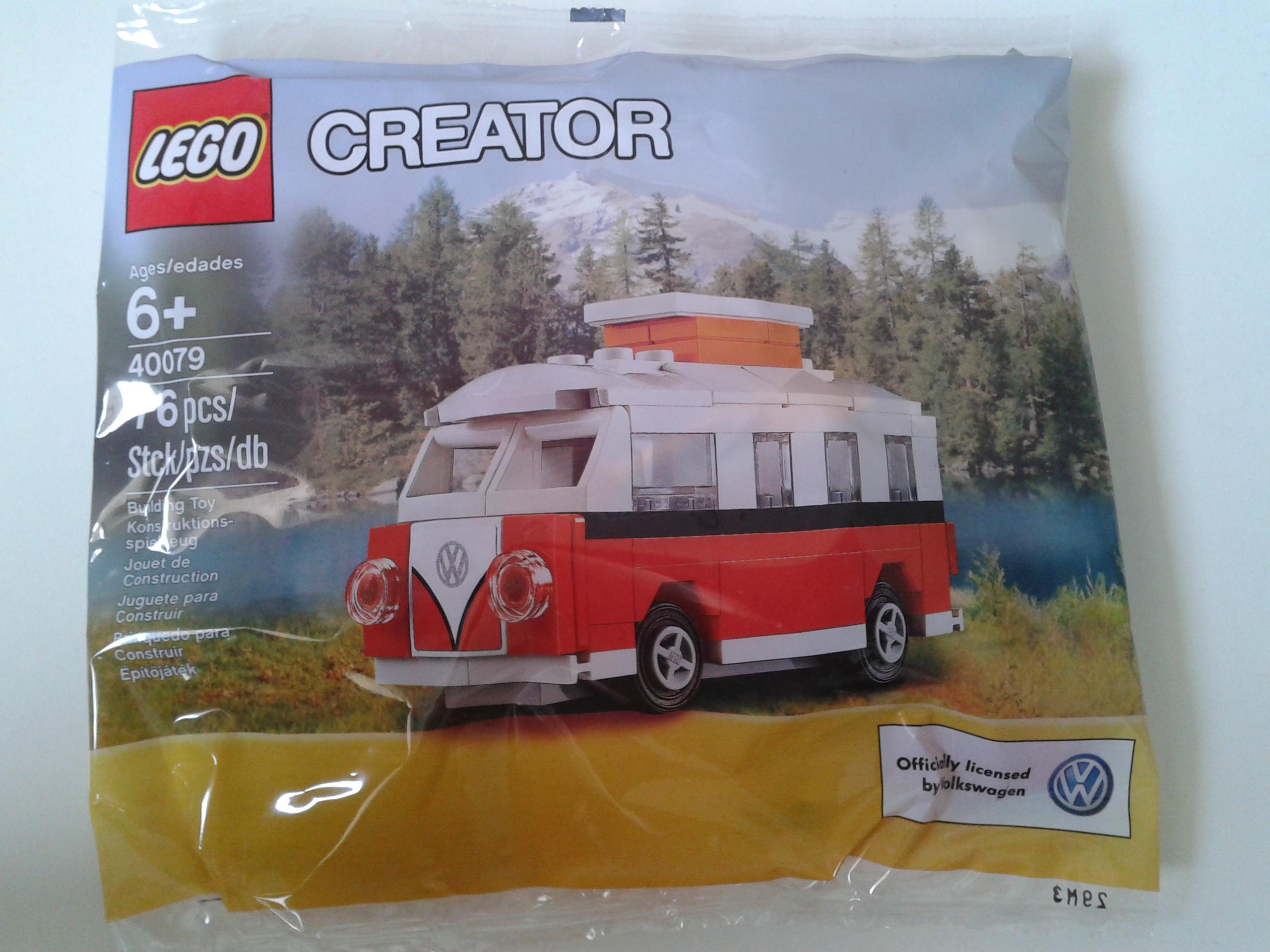 mini volkswagen van review toys  bricks