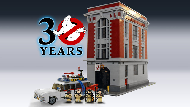 Ghostbusters 30th Anniversary LEGO Cuusoo Review Stage