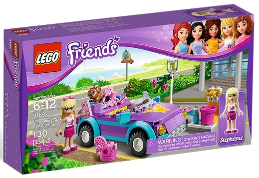 LEGO 3183 Friends Stephanie's Cool Convertible - Toysnbricks