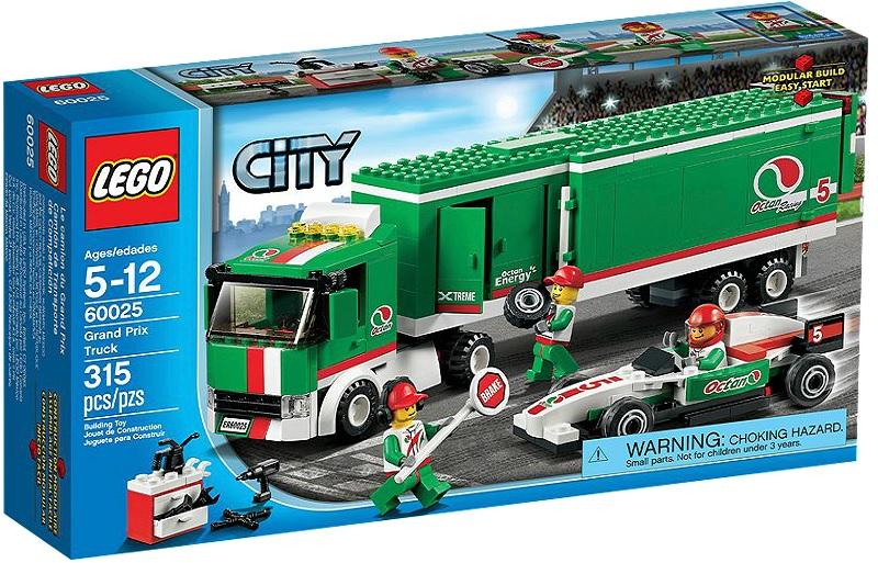 LEGO 60025 City Grand Prix Truck - Toysnbricks