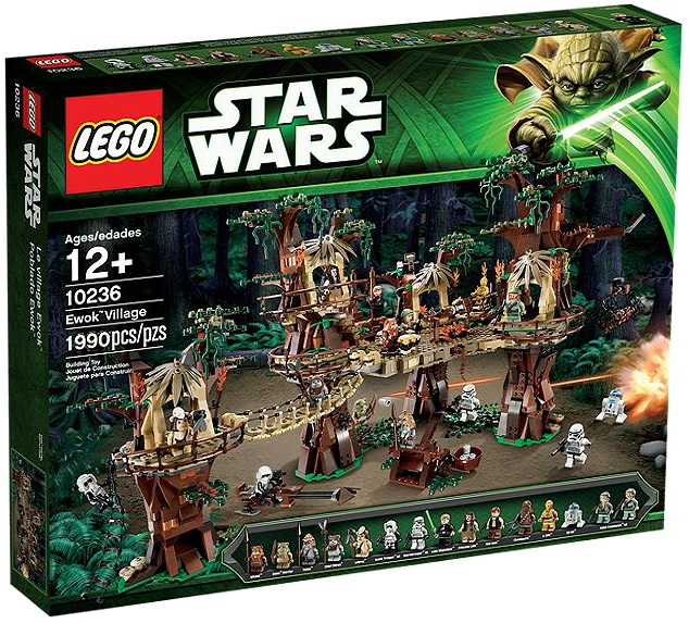 LEGO Star Wars 10236 Ewok Village - Toysnbricks