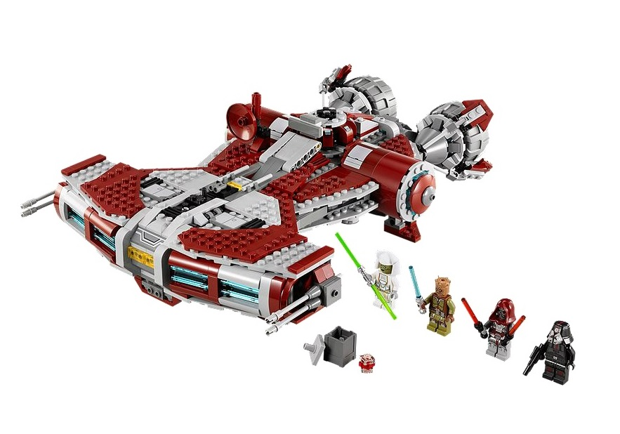 LEGO Star Wars 75025 Jedi Defender-class Cruiser - Toysnbricks