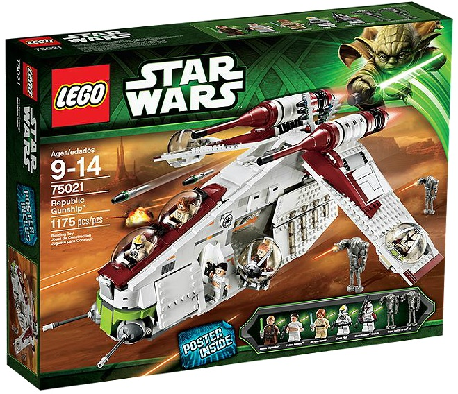 LEGO Star Wars Republic Gunship 75021 - Toysnbricks