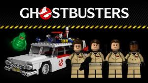 LEGO TeeKay Ghostbusters Cuusoo Creation