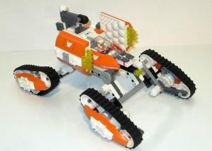 [MOC] MOD Galaxy Squad Orange Team Insect Annihilator