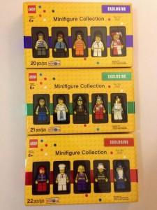 2013 Bricktober LEGO Minifigure Collection Volume 1-3 ToysRUs