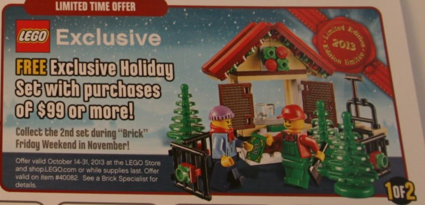 LEGO 40082 Exclusive Holiday Set 2013 Promotion - Toysnbricks