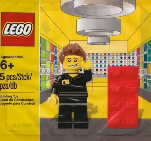 LEGO 5001622 Store Employee Set