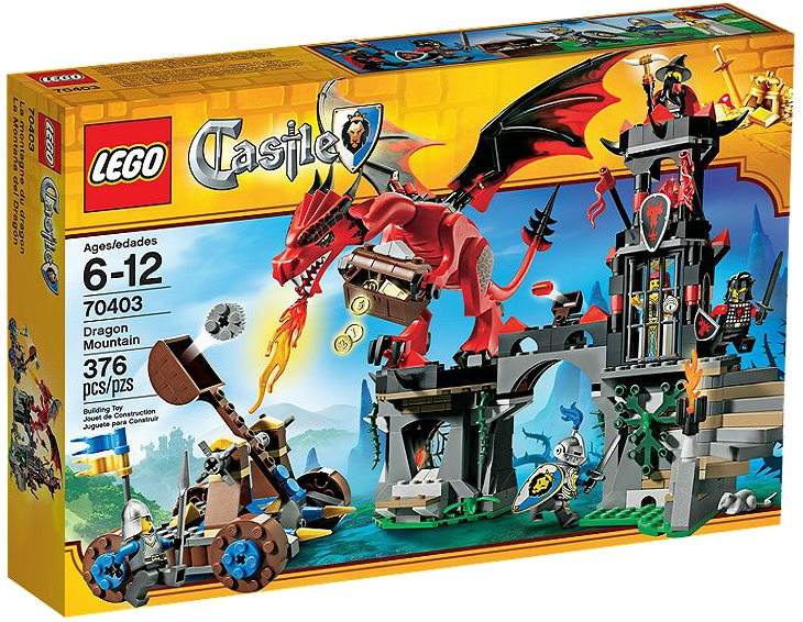 LEGO Castle Dragon Mountain 70403 - Toysnbricks