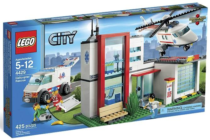 LEGO City 4429 Helicopter Rescue - Toysnbricks