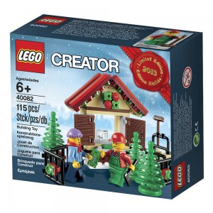 LEGO Creator 40082 Christmas Holiday 2013 Part 1 Box
