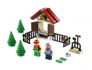 LEGO Creator 40082 Christmas Holiday 2013 Part 1 Set