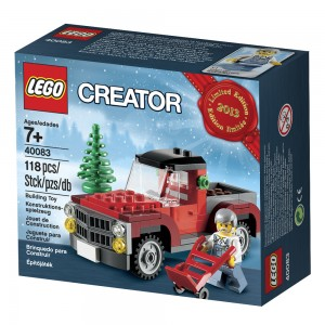 LEGO Creator 40083 Christmas Holiday 2013 Part 2 Box