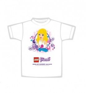 LEGO Friends T-Shirt Club Meeting September 2013 - Toysnbricks