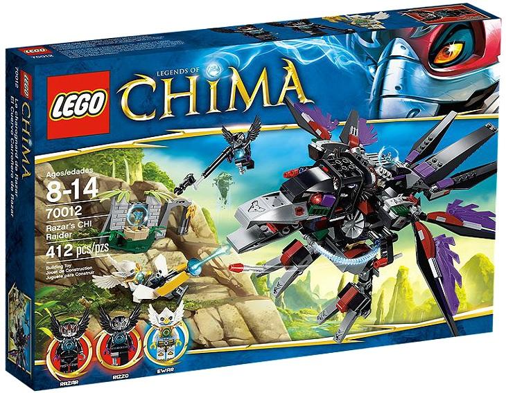 LEGO Legends of Chima 70012 Razar's CHI Raider - Toysnbricks