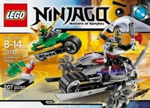 LEGO Ninjago 70722 OverBorg Attack (Pre)