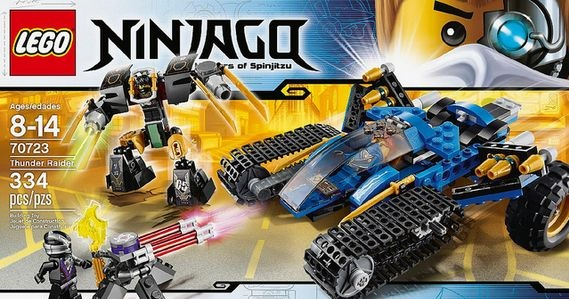 LEGO Ninjago 70723 Thunder Raider (Pre)