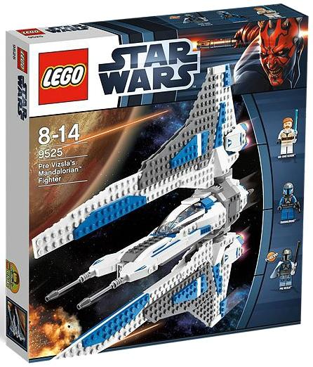LEGO Star Wars 9525 Pre Vizsla's Mandalorian Fighter - Toysnbricks